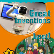 Club infantil de lectura en angl�s. Great inventions, by Mark Ormerod