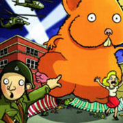 Club infantil de lectura en angl�s: Attack of the giant hamster