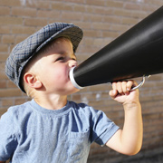 Speaker corner dels infants