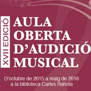 Aula Oberta d'Audici� musical: George Frideric H�ndel, Brockes-Passion